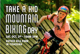 Evergreen Take a Kid Mountain Biking Day - Duthie Hill Park