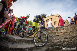 Photo Epic: Racing In The Streets - Prologue, EWS 2015, Ainsa