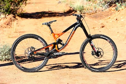 Sam Reynolds' Custom Polygon DH9 - Red Bull Rampage 2015