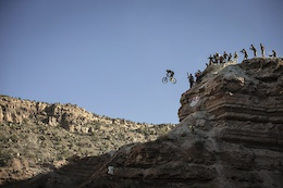 Video: Tyler McCaul's Huge Drop - Red Bull Rampage 2015