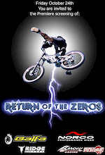 Return of the Zeros - Friday October 24th - Vancouver, BC