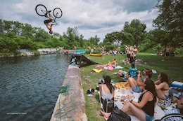 Video: The Rise and iBike Water Jump Party