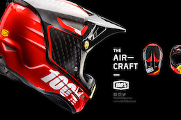 Introducing the Aircraft Full Face Helmet From 100%