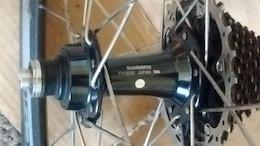 2015 Shimano 50mm clincher rear