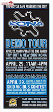 The Bicycle Cafe Presents the 2007 Kona Demo Tour