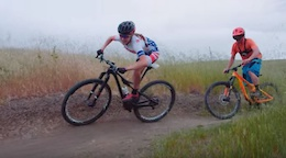 Video: Slowmo Bro Learns How to Share the Trail