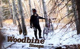 Snow Drifting Woodbine Steeps - Video