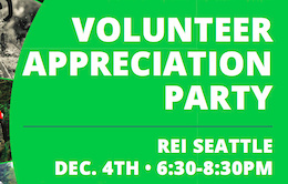 Evergreen's 2015 Volunteer Appreciation Party is Dec. 4th