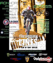 Iron Horse / DHRacer Movie Premiere
