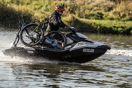 Shuttling Trailbikes With Sea-Doos - Video