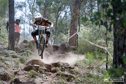 Australian National Downhill Series Round One, Mt Taylor - Results