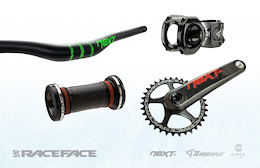 Win Race Face Next SL Crankset and 35mm Cockpit - Pinkbike's Advent Calendar Giveaway