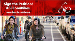 A Billion for Bikes - That's What We're Asking For