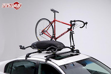 Sleek, Sexy new Buzz Bike Rack with Integrated Aerodynamic Storage Pod- Built for Style and Utility