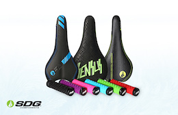 Win an SDG Saddle and Grip Combo Pack - Pinkbike's Advent Calendar Giveaway