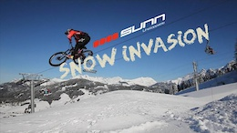 Snow Invasion: No Fat Bikes Required - Video
