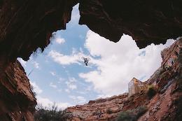 Video: Kelly McGarry's 72-Foot Backflip Canyon Gap