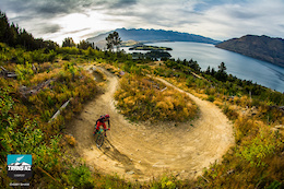 Yeti Trans NZ Day 5 - Queenstown, Berm Blasting the Skyline