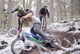The Loose Riders of Odenwald hit the Snow - Video