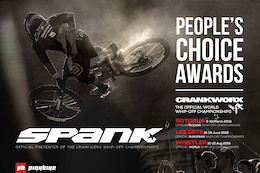 The People's Choice Award - Official Oceania Whip-Off Championships Presented by Spank, Crankworx Rotorua 2016 - Video
