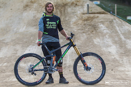 Bike Check: Matt Walker's Cube Two15 - Crankworx Rotorua 2016