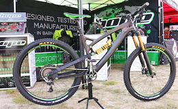 Hope's Wild HB.211 Enduro Bike - Sea Otter 2016