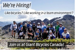 Giant Canada is Hiring