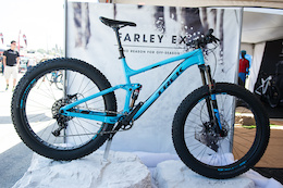 Trek's Farley EX Full Suspension Fat Bike - Sea Otter 2016