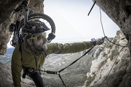 Rock Climbing and Biking all in One - Video