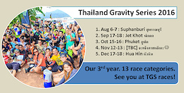 Thailand Gravity Series 2016