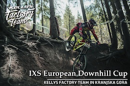 Kellys Factory Team at iXS, Kranjska Gora - Video