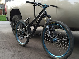 I guess ive been on this frame for a couple months just getting around to a picture now   p3 frame rides amazing