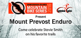 Mount Prevost Enduro - Stevie Smith Fundraiser