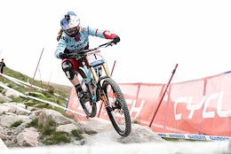 Fort William BDS: Rachel Atherton Practice Run – Video