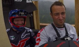 Claudio's Course Preview, Leogang DH World Cup - Video