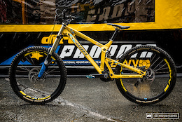 Phil Atwill's Propain Rage - Leogang DH World Cup