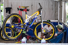Mike Jones's Nukeproof Pulse - Leogang World Cup 2016