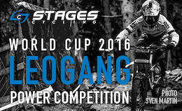 Stages Cycling - UCI WC DH - Leogang Power Competition Winner