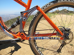 First Ride: Tantrum Cycles Missing Link Suspension