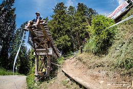 Swiss Made: Lenzerheide DH World Cup 2016 - Track Walk