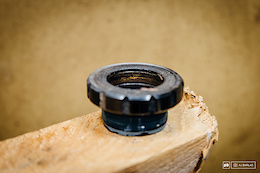 Rust/corrosion on the inner race of the 30mm bearing