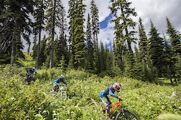 Sun Peaks Bike Park Update: DH Race Track Completed