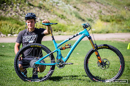 Richie Rude's Yeti SB6 Bike Check - EWS Round 5, Aspen-Snowmass