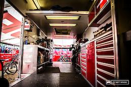 SRAM's Race Support Truck - EWS Round 5, Aspen