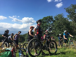 Katy Curd Shares Expertise at Holistic Mountain Bike Retreats
