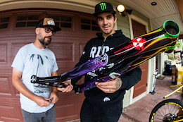 Sam Hill's Nukeproof Monster Truck
