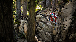 Epic Crankworx Downhill Sees Local and Colombian Heroes Podium