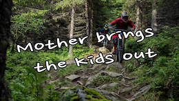 Off Days in Hafjell: Mother brings the Kids Out - Video