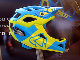 Leatt Convertible Full Face Helmet - Crankworx Whistler 2016