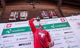 Lutz Weber is the Swiss National DH Champion - Video